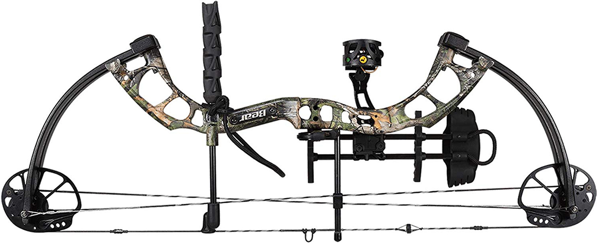 Bear Archery Cruzer Ready to Hunt Compound Bow Package 70lb RH